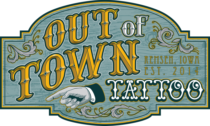 out of town tattoo